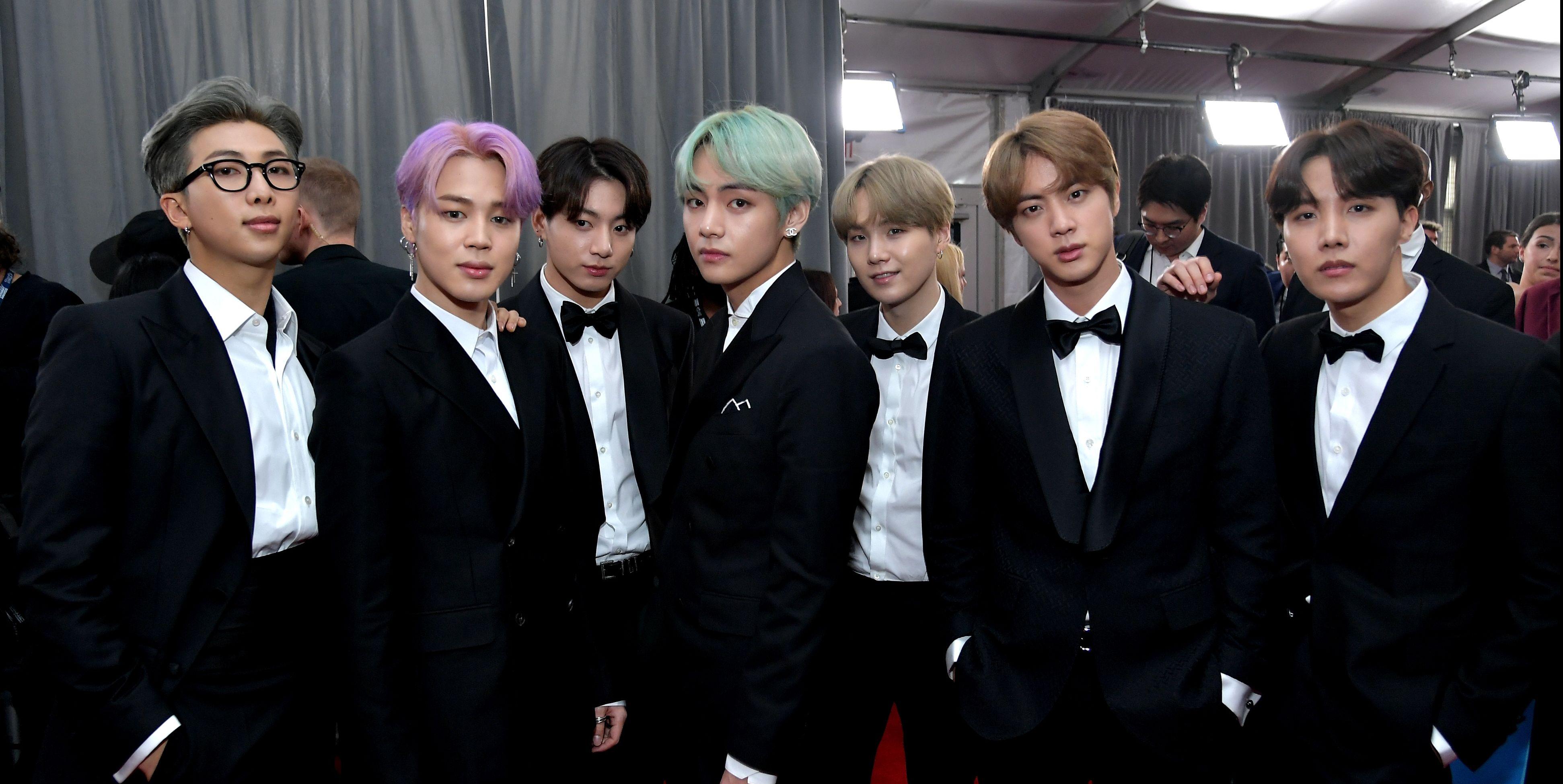 Grammy 2019 Bts: What BTS's V, RM, Suga, Jimin, Jungkook, Jin, And J-Hope