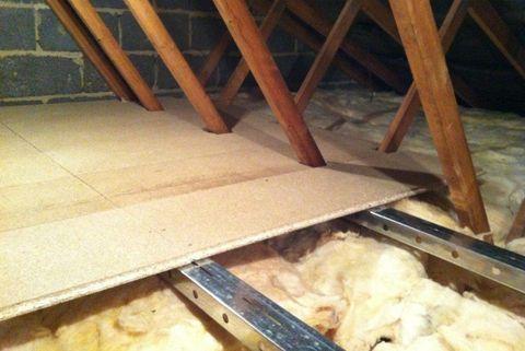 add a floor attic storage