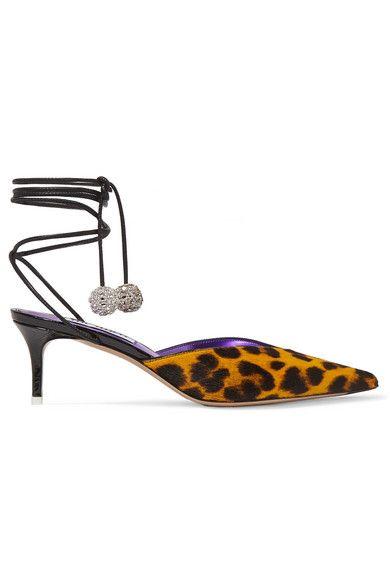 Footwear, Slingback, Shoe, Sandal, Yellow, High heels, Leather,