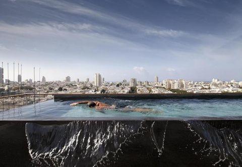 Body of water, Daytime, City, Water resources, Metropolitan area, Cityscape, Urban area, Fluid, Tower block, Metropolis,