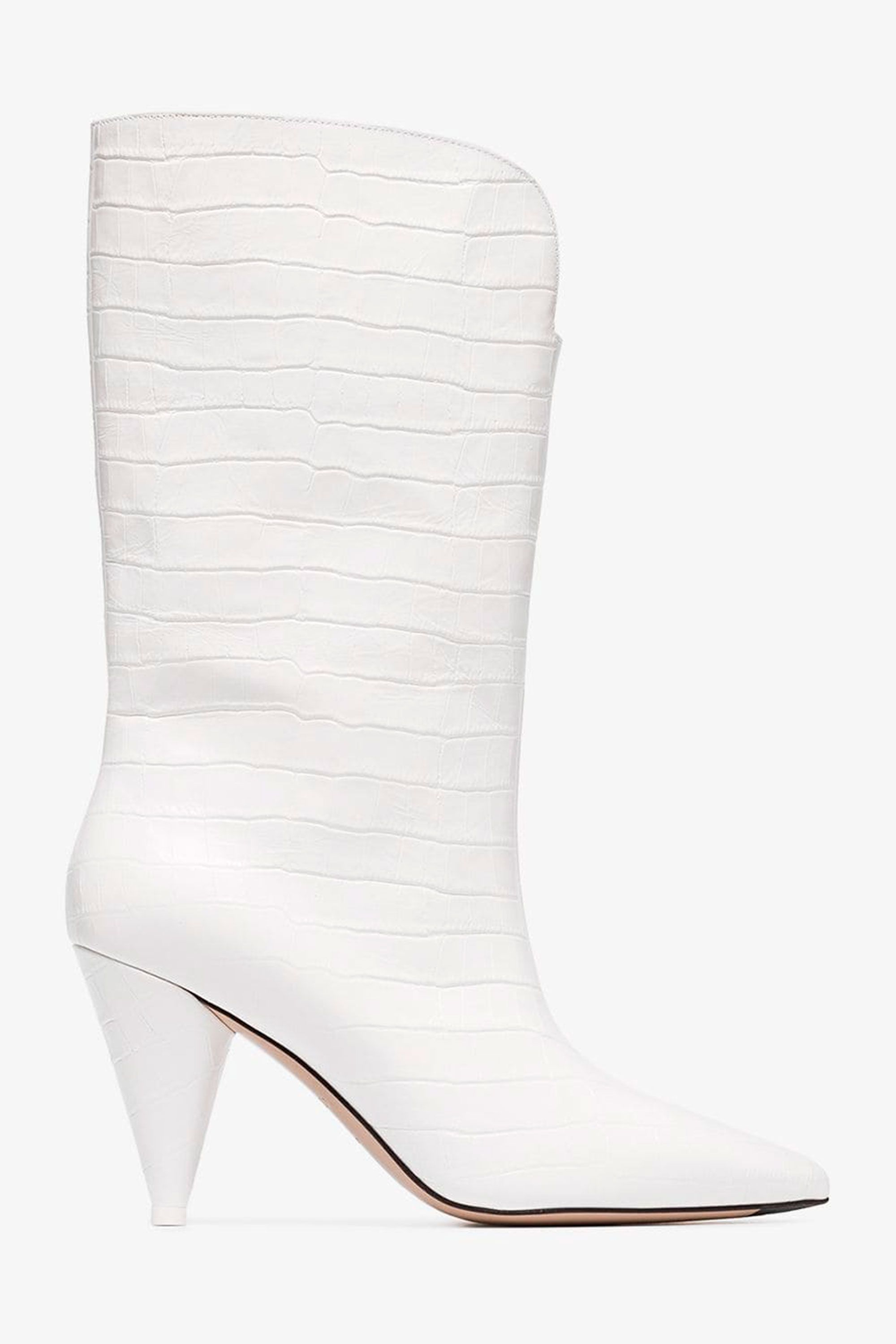 10 best white boots to buy for autumn 2018 – How to wear white boots 947ab296e7c7