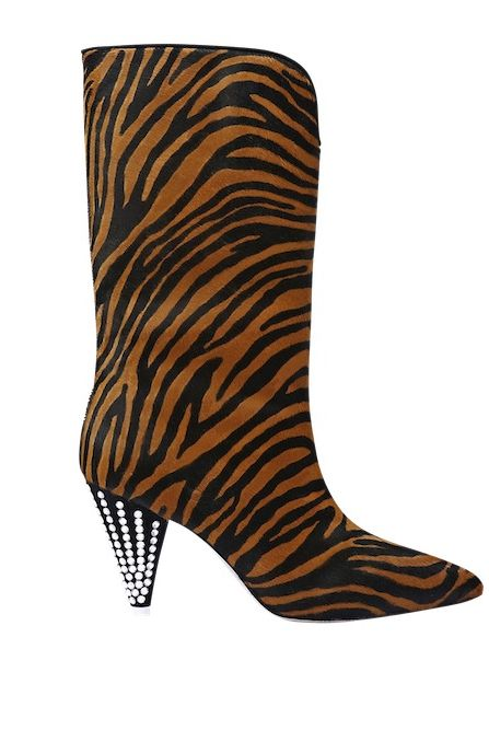 Footwear, Boot, Brown, Knee-high boot, Shoe, High heels, Font,