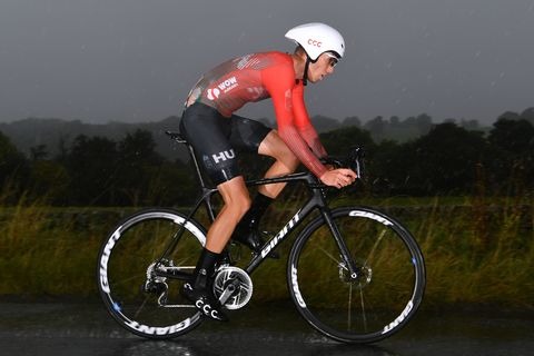 Heavy Rain at Yorkshire Time Trials Leads to Nasty Crashes