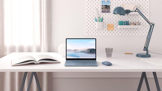 a microsoft surface laptop go