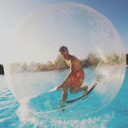 Walk On Water With This Human Hamster Ball