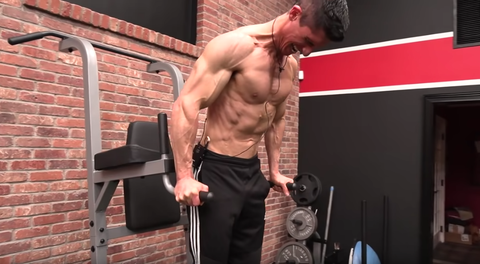 Barechested, Muscle, Shoulder, Arm, Chest, Physical fitness, Bodybuilder, Bodybuilding, Joint, Biceps curl,