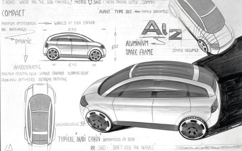 donckerwolke's design sketch for audi ai 2