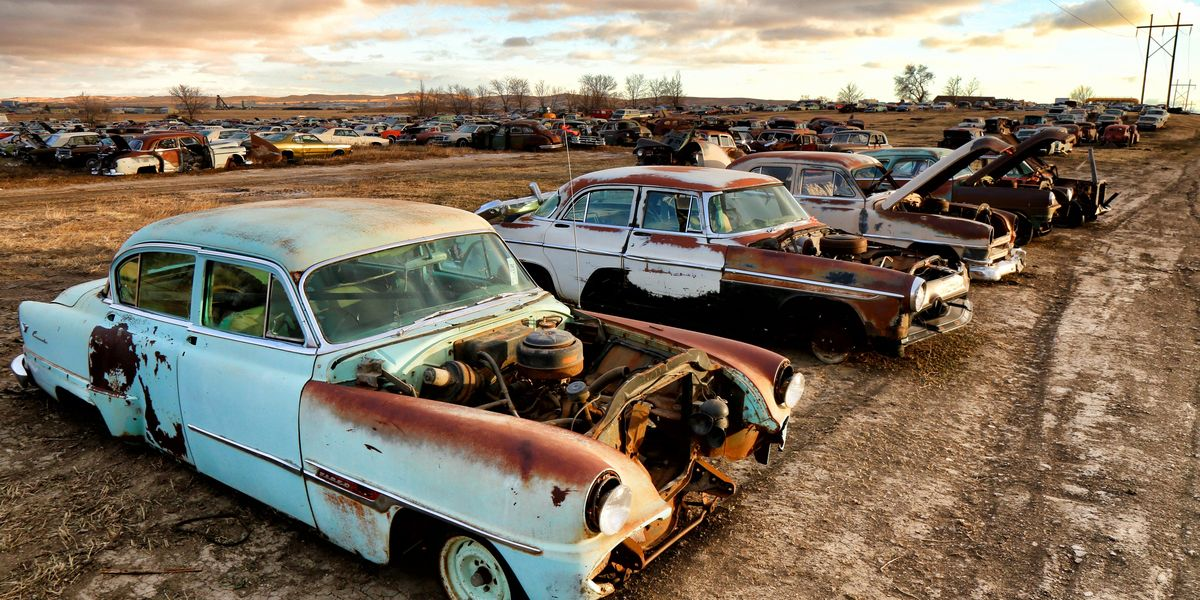 Rust Never Sleeps at Moore's Auto Salvage