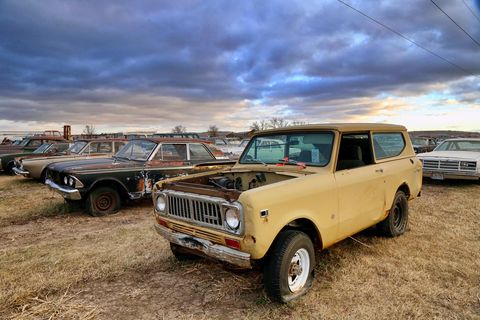 mcpherson auction in south dakota is a project car paradise
