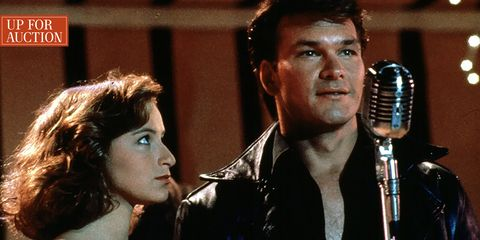 Jennifer Gray and Patrick Swayze in Dirty Dancing