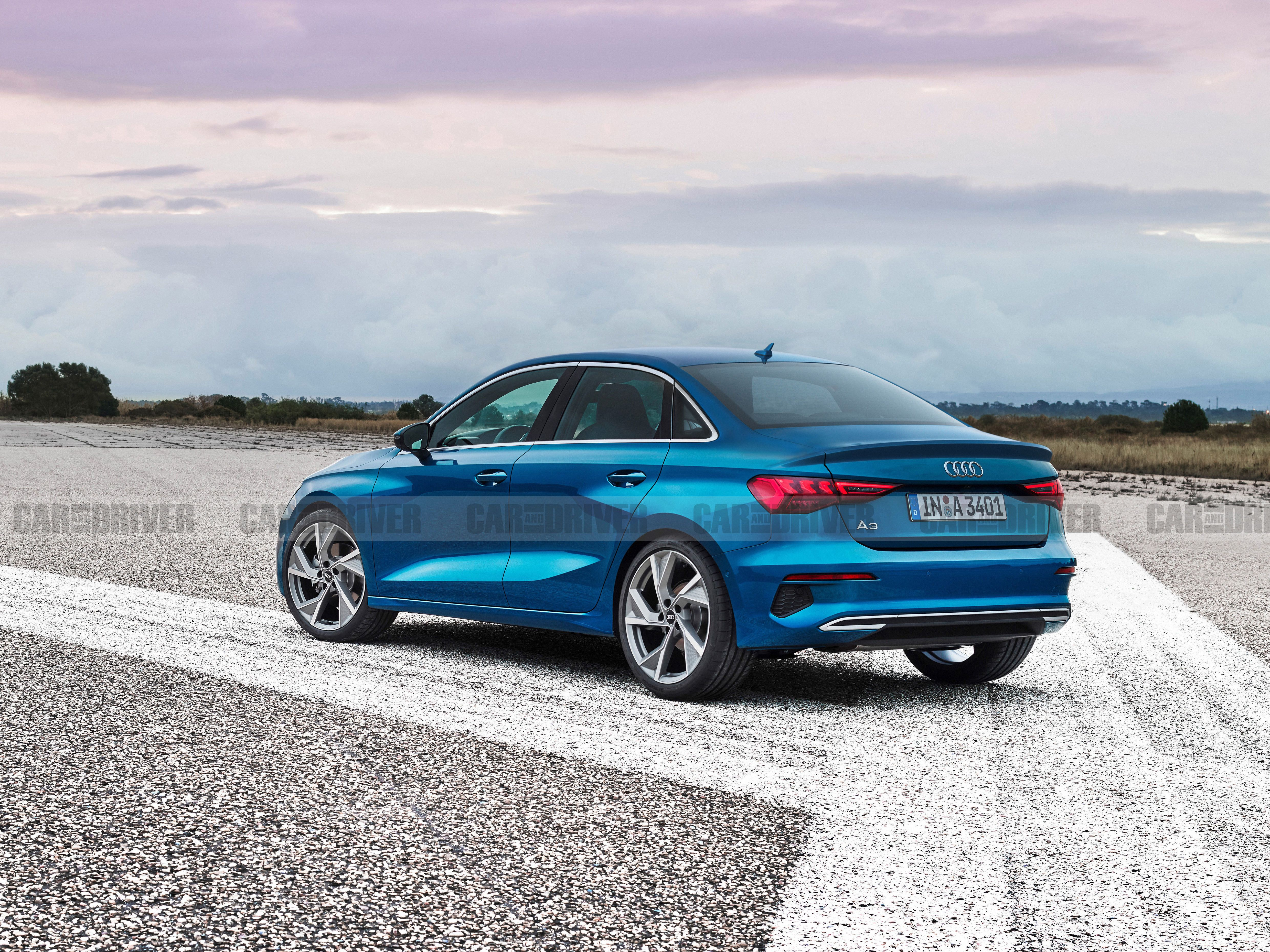 2021 Audi A3 Sedan Slated For U S Debut Later This Year
