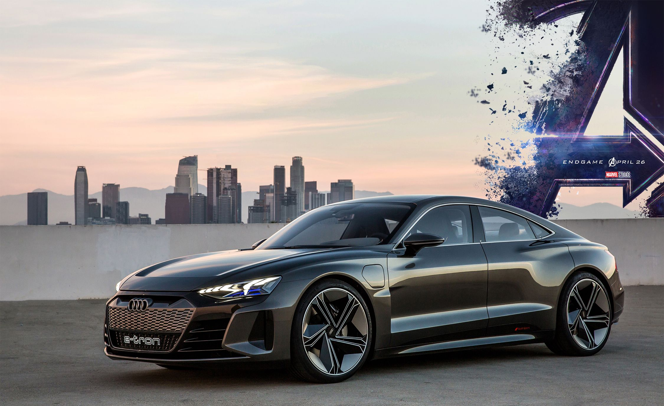 Avengers Endgame Features This Audi Concept Car New Marvel Movie