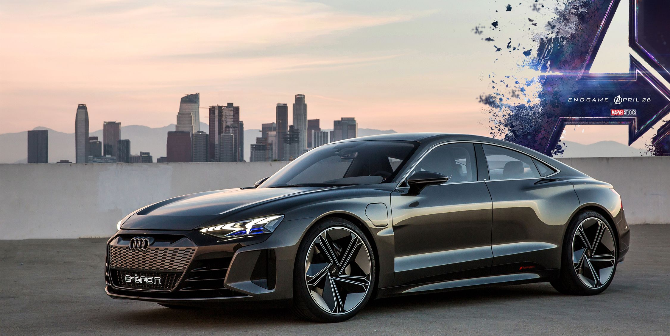 Avengers Endgame Features This Audi Concept Car New
