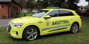 Audi e-tron vehículo de emergencias