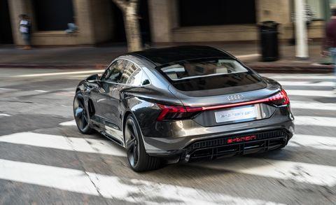 2021 Audi E-tron GT rear