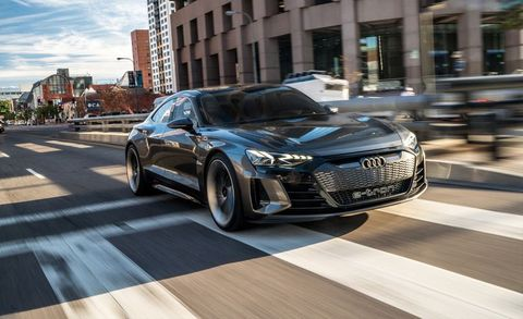 Driving Audi S E Tron Gt Concept Gives Us A Taste Of The Brand Ev Future
