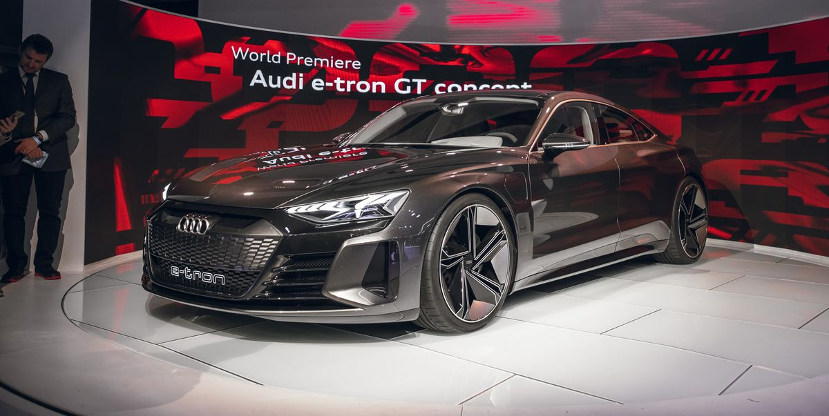 Audi E Tron >> Audi e-tron GT Concept – New Electric Concept Has ...