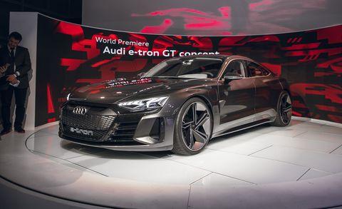 Audi E Tron Gt Concept New Electric Concept Has Sportback Style
