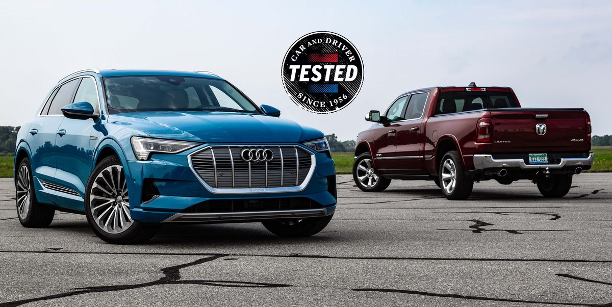 2019 Audi e-tron Is Heavier Than Our Long-Term 2019 Ram 1500