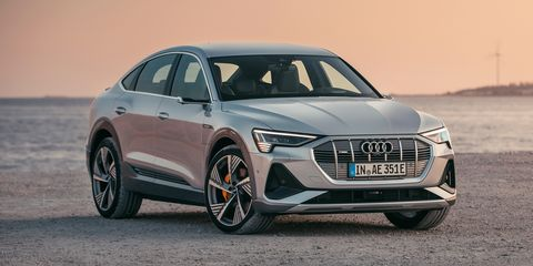 See Photos of 2020 Audi e-tron Sportback