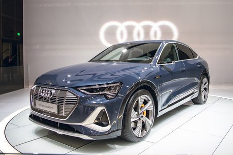 2020 Audi e-tron Sportback is the A7 of Audi EVs