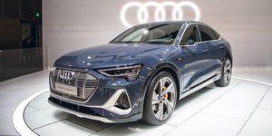 2020 Audi e-tron Sportback front