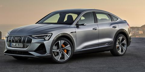 2020 Audi e-tron Sportback is the A7 of Audi Electric Vehicles