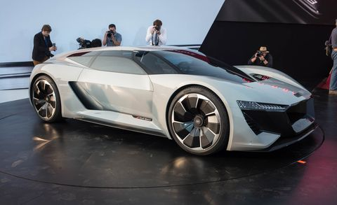Audi S Pebble Beach Concept The Pb18 E Tron Is An R18 Racer For