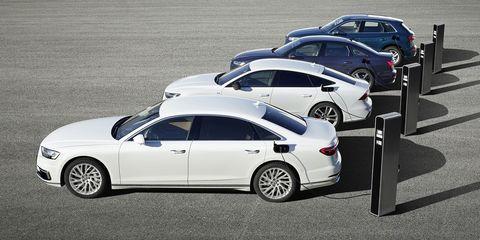 Audi TFSIe - gama de híbridos enchufables de Audi