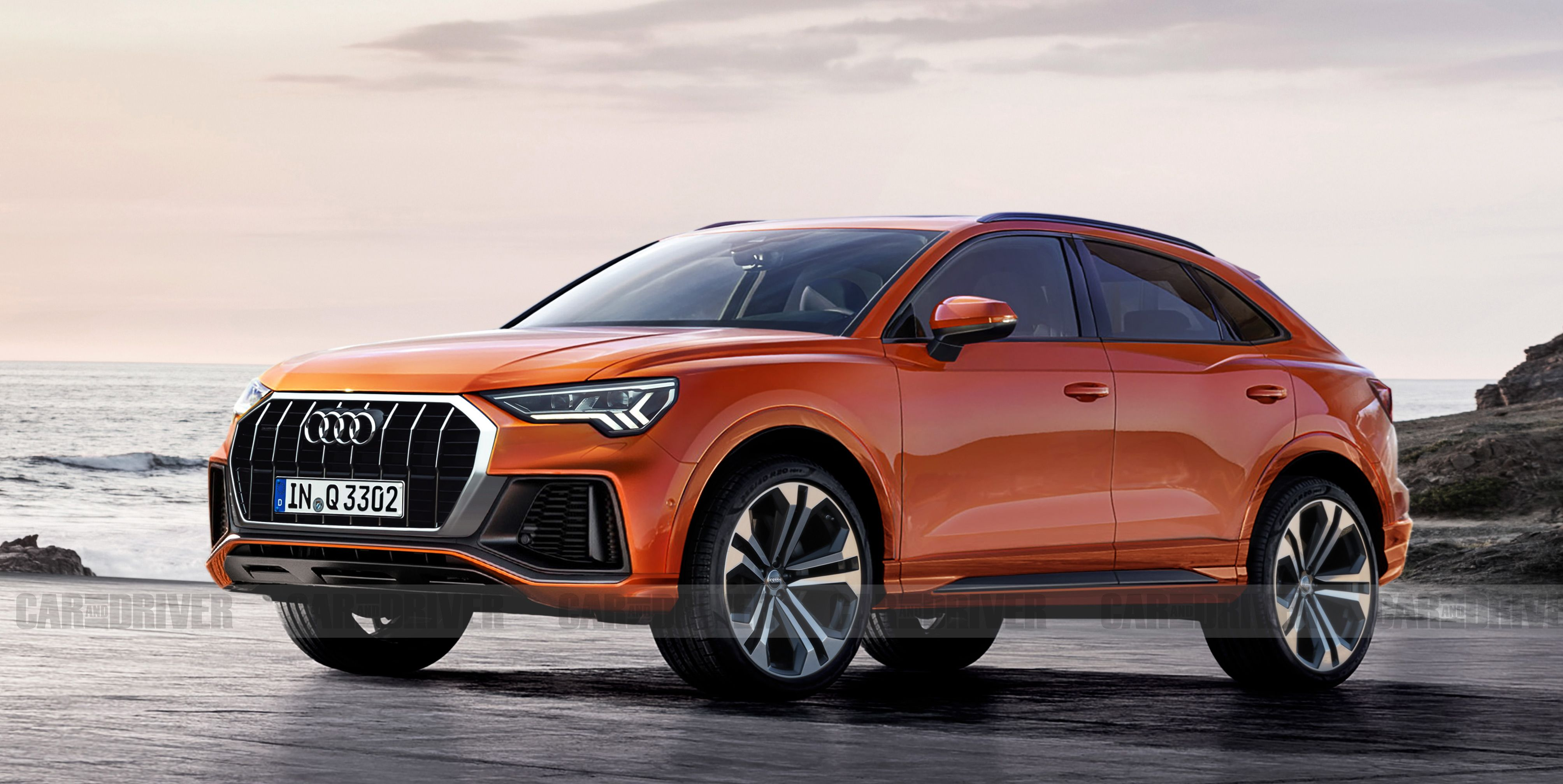 "The Audi Q3 Is Getting a ""Coupe-Like"" Sportback Stablemate"
