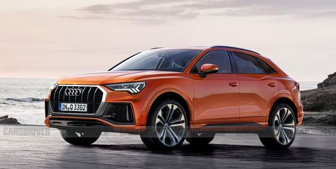 Audi Q3 Sportback – New Coupe Version of the Small SUV