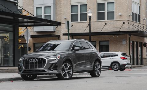 Land vehicle, Vehicle, Car, Motor vehicle, Automotive design, Sport utility vehicle, Audi, Mini SUV, Wheel, Mid-size car,