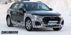 Audi Q5 camuflado