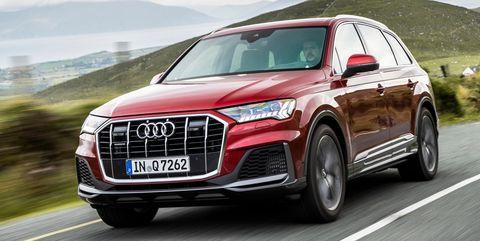 Land vehicle, Vehicle, Car, Audi, Motor vehicle, Automotive design, Sport utility vehicle, Family car, Compact sport utility vehicle, Sky,