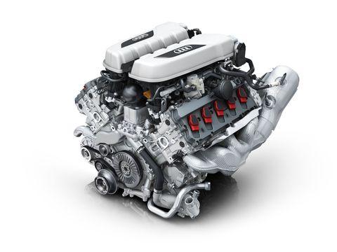 photo Audi R8 V10 engine