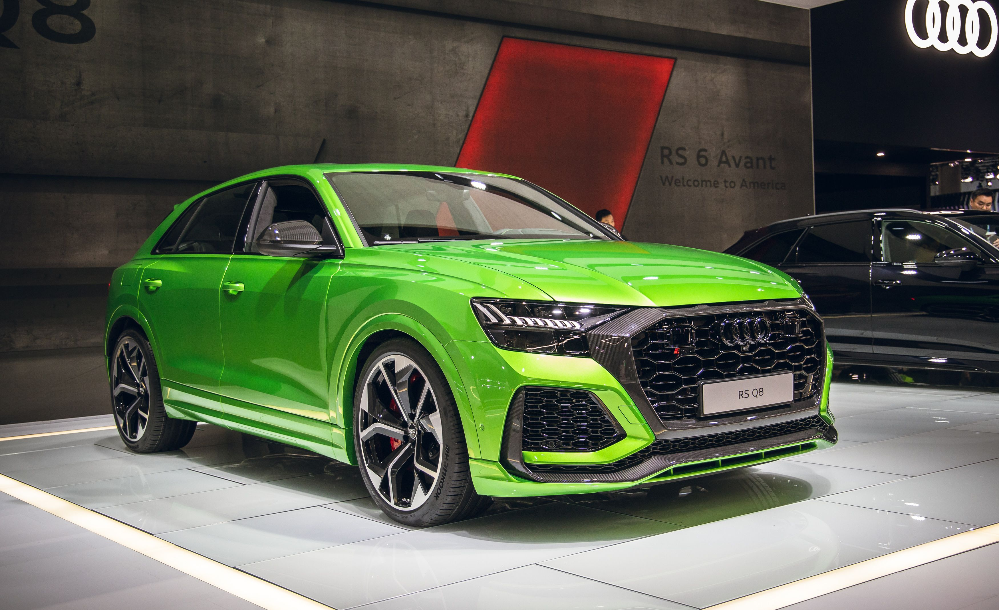 Audi Rs Q8 Packs A 591 Hp Wallop Of V 8 Power