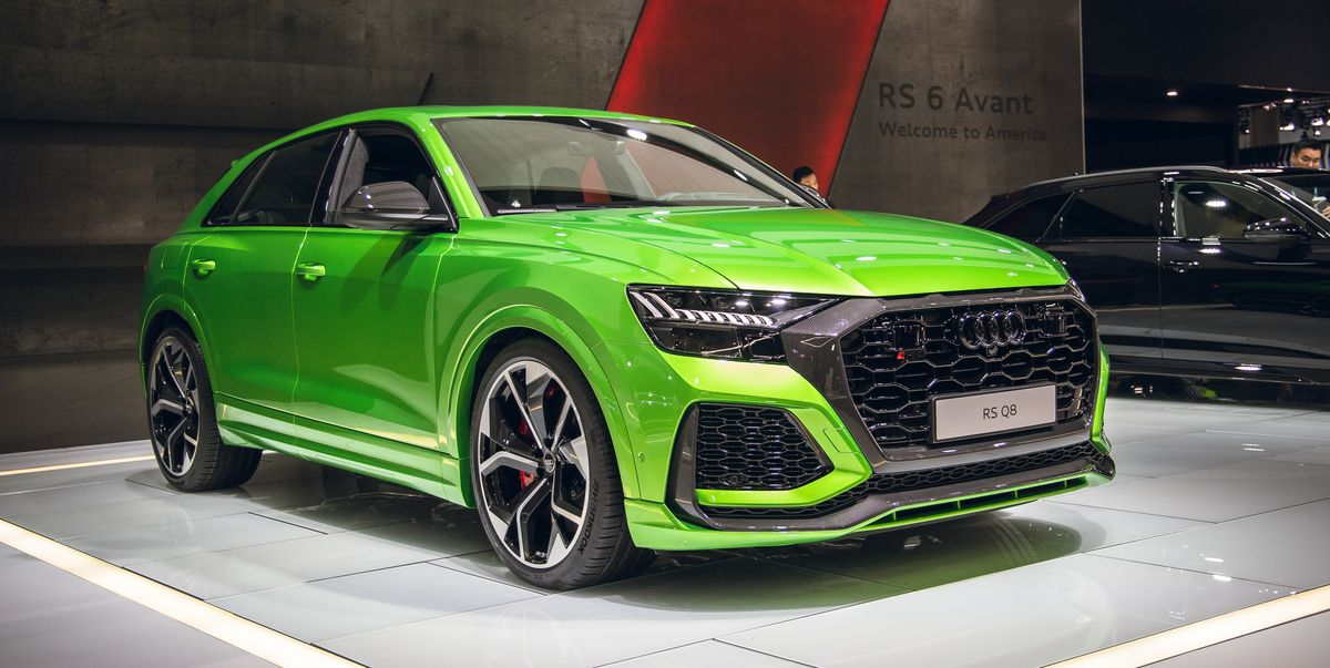 Audi RS Q8 Packs a 591-HP Wallop of V-8 Power