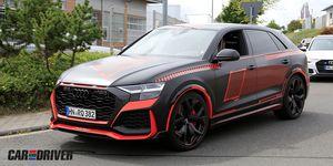 Audi RS Q8 sin camuflaje