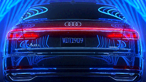 Audi A8L abstract Zoom backrdop