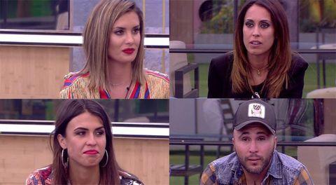 GH DÚO. Candela, Sofía, Kiko y Raquel