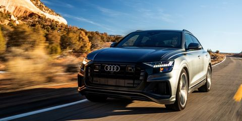 Audi Q8 Will Soon Talk Directly to Virginia's Roads