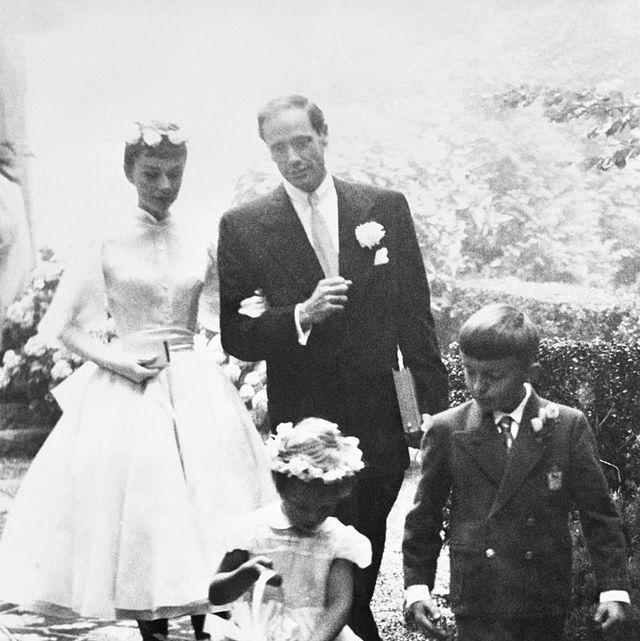 audrey hepburn wedding day