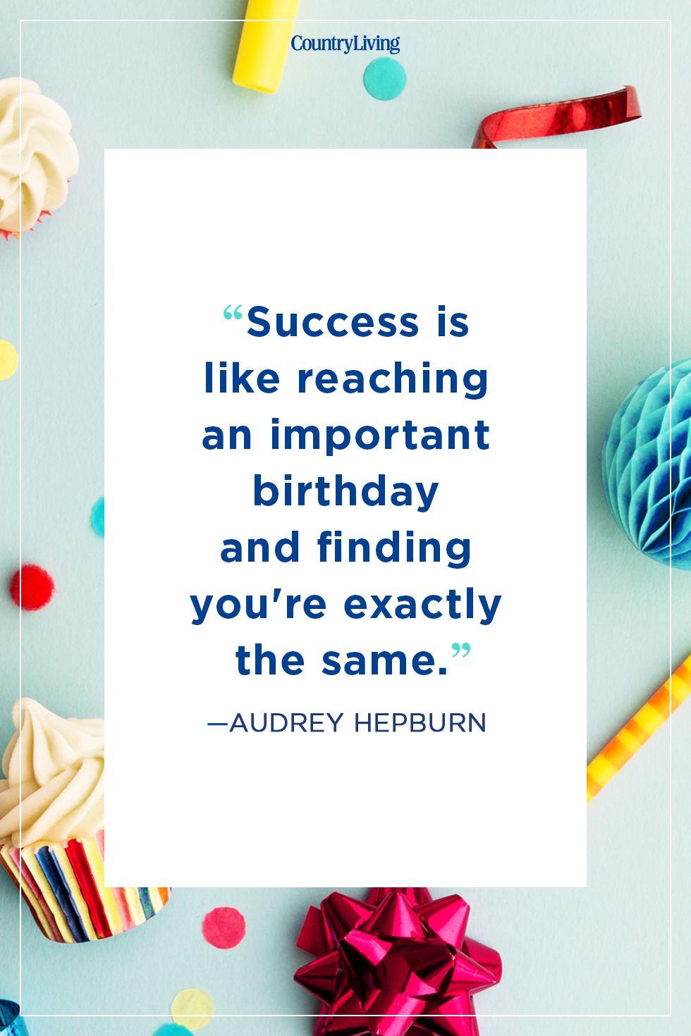 audrey hepburnbirthday quote