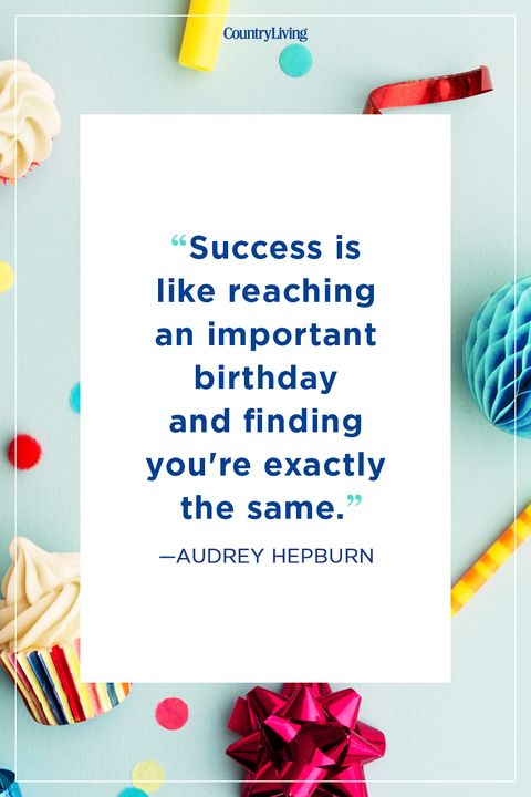 audrey hepburn birthday quote