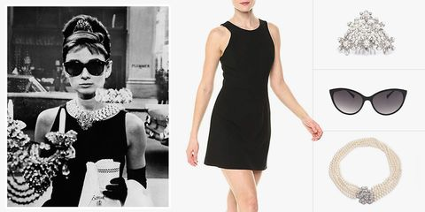 Holly Golightly costume in 'Breakfast at Tiffany's'