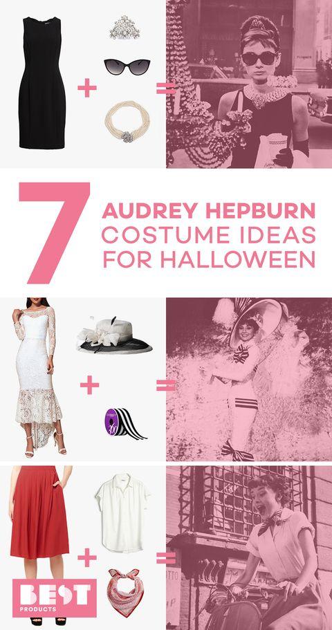 audrey hepburn halloween costumes best 2018