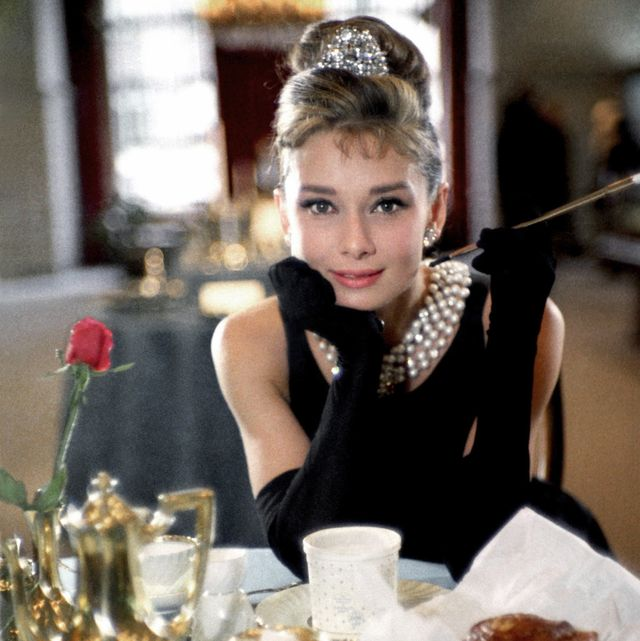 new york   1961  actress audrey hepburn poses for a publicity still for the paramount pictures film 'breakfast at tiffany's' in 1961 in new york city, new york photo by donaldson collectionmichael ochs archivesgetty images