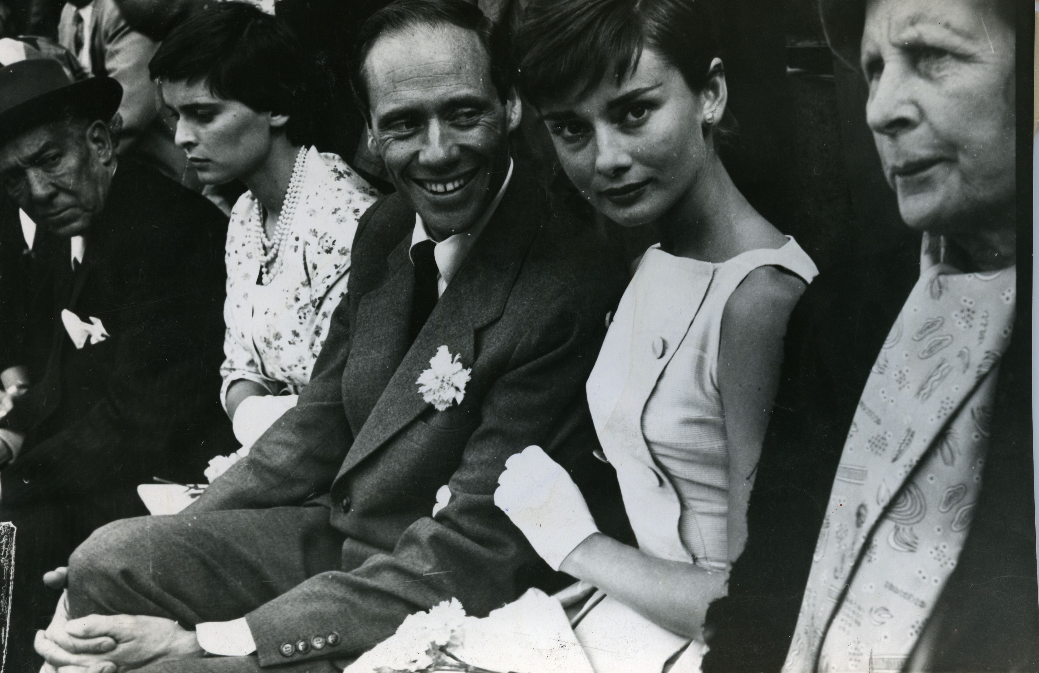 Mel Ferrer y Audrey Hepburn