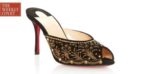Footwear, High heels, Slingback, Sandal, Shoe, Basic pump, Leg, Font, Beige,