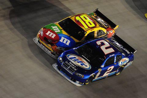 NASCAR: AUG 22 NASCAR Sprint Cup Series - Sharpie 500